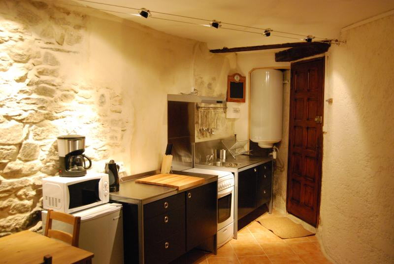 Gite kitchen fully equiped