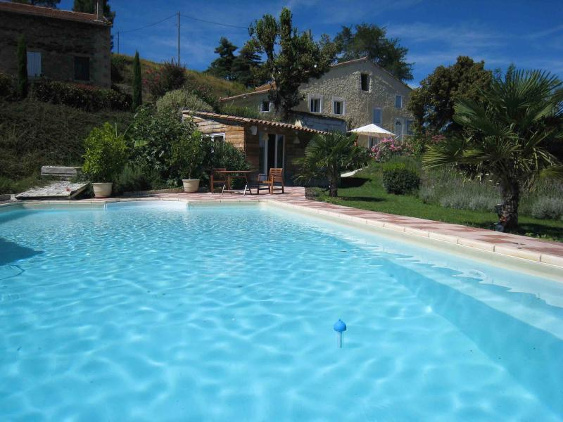 CHARMING HOUSE IN THE SOUTH OF FRANCE, vacation rental in Saint-Lager-Bressac