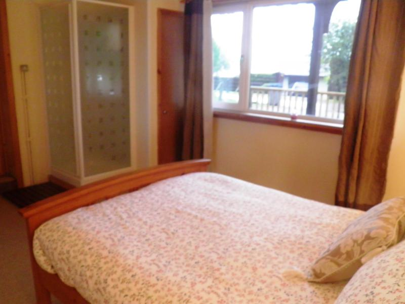 Master double bedroom with shower cubicle