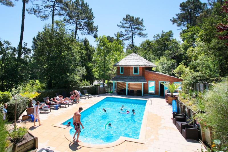 Gite in village with heated pool