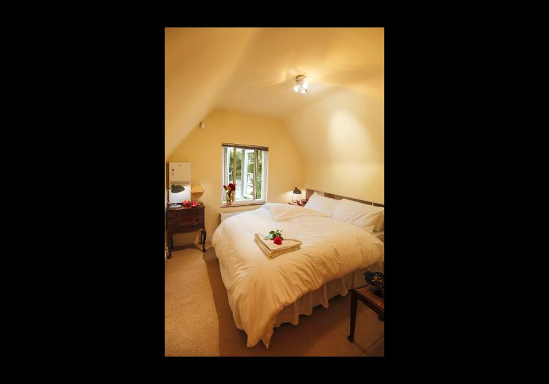 The double room in the attic
