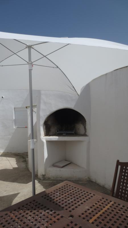 Garden and Barbecue Area