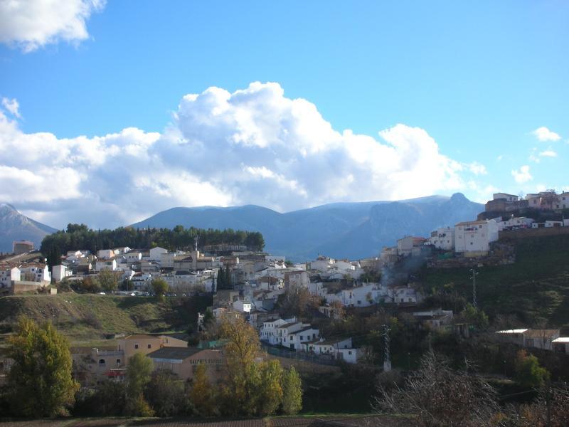 Iznalloz, a typical Spanish town in Granada Province