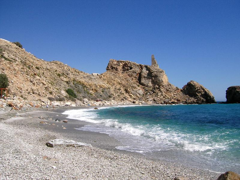 There are some lovely quite coves down on the coast, an easy drive from Iznalloz