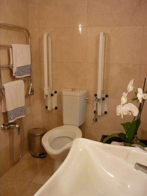 En Suite to single bedroom with facilities for the disabled