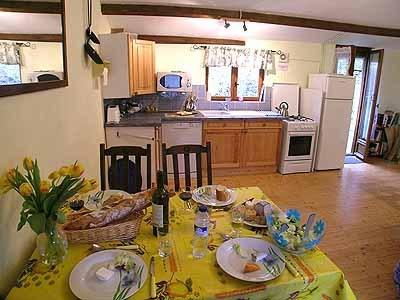 La Roche cuisine/salle à manger