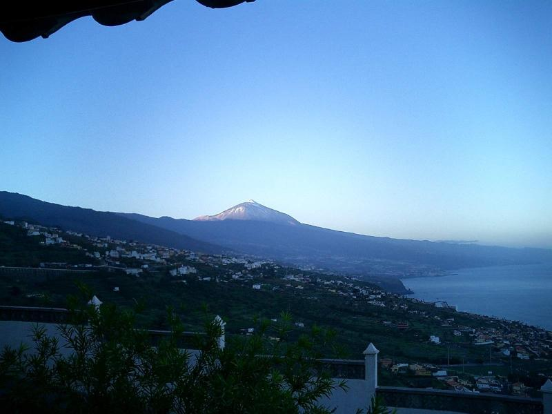 Sunrise from the villa.