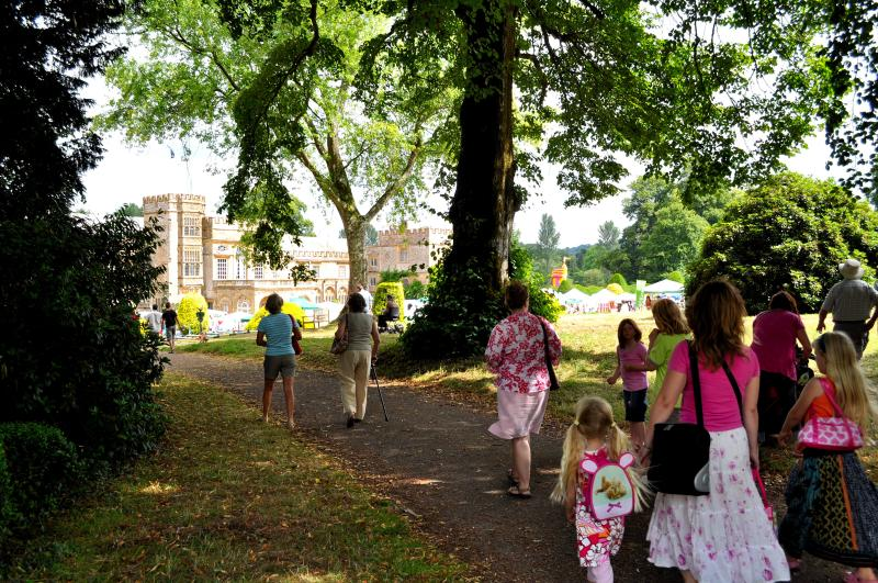 Everyone off to Forde Abbey Fete every July!  Historic house with gardens