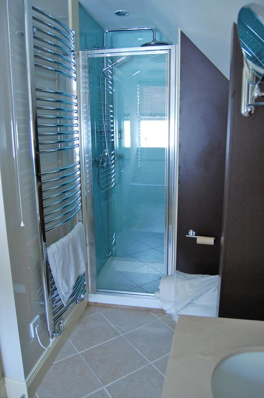 The Shower in Rose Cottage