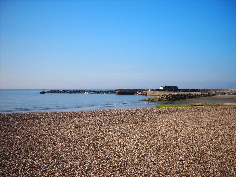 The Cobb harbour at nearby Lyme Regis - fishing trips, fossilling, beach life