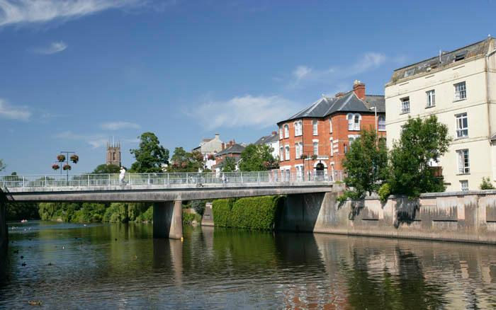 Tiverton - River Exe