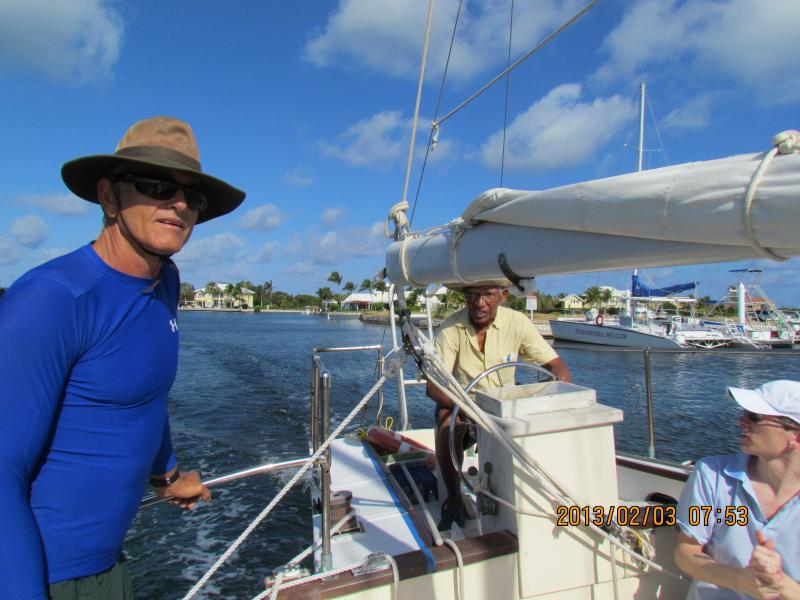 Your host Jeff HIGHLY recommends the Stingray City sailing trip of captain Crosby!