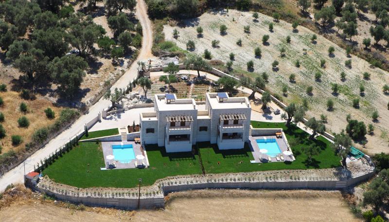Aerial Photo of villas