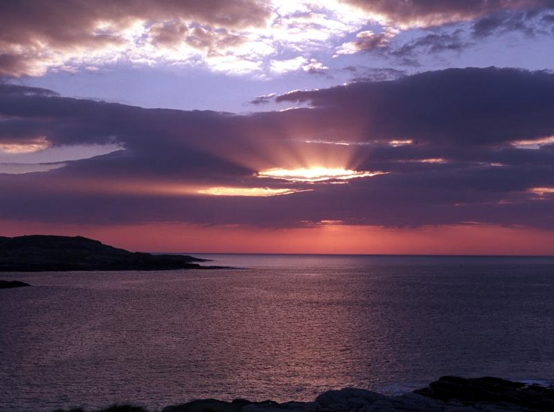 Glorious Sunset over Halaman Bay