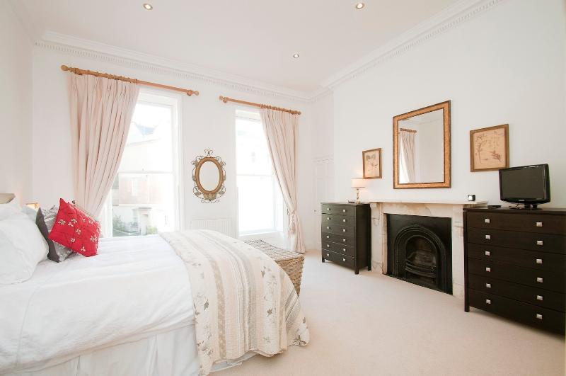 The beautiful bedroom.