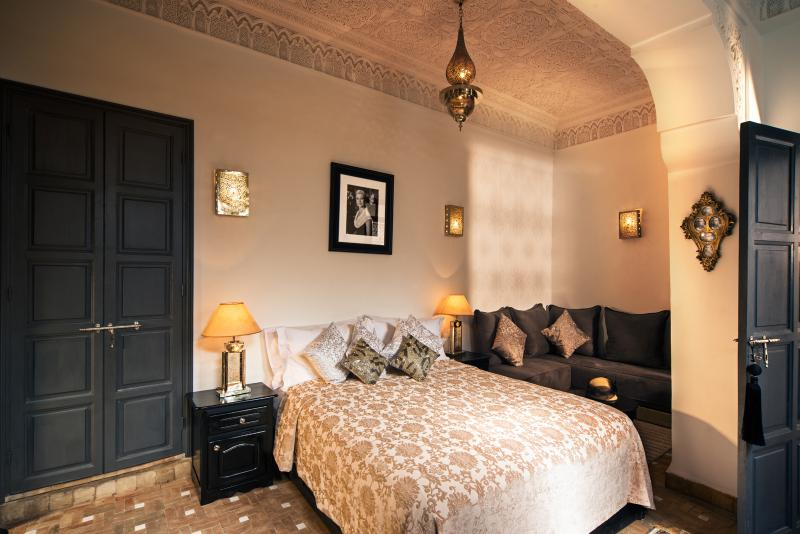 Star suite can be made up as a double or twin with a cosy seating area and ensuite shower.