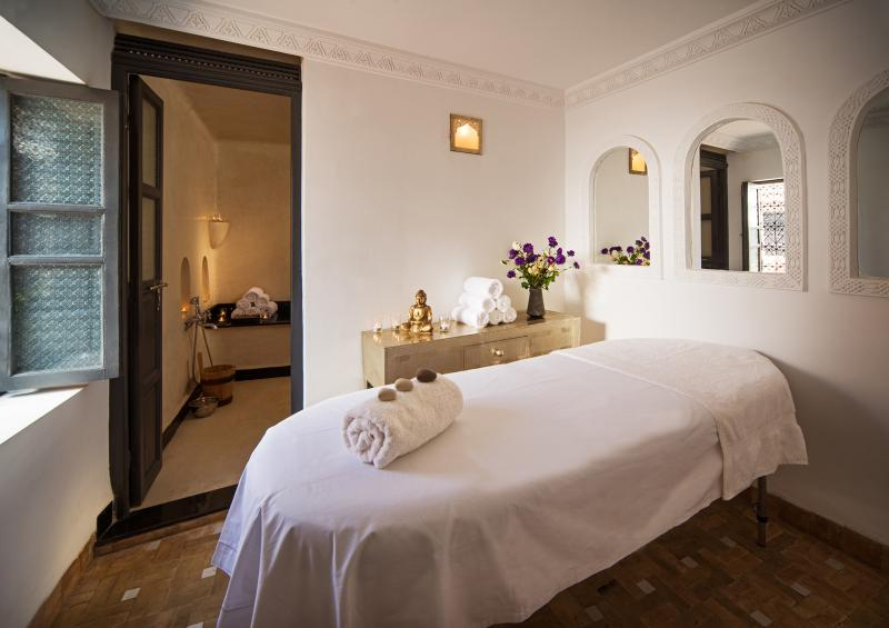 Best of all is the Riad's hammam and massage suite, luxury just a few steps from your room.