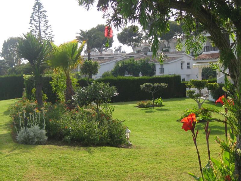 View onto the Garden