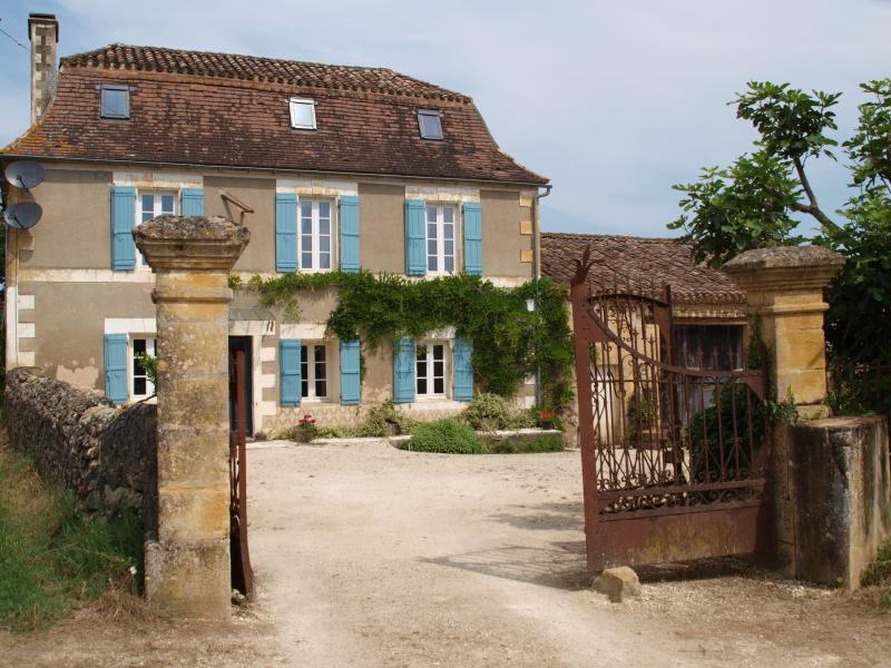 Classical French farmhouse
