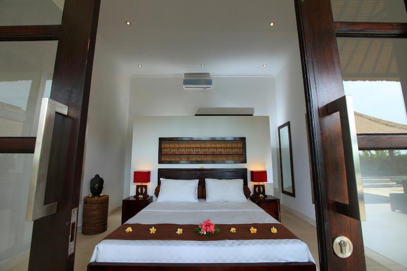 bedroom of villa Baruna
