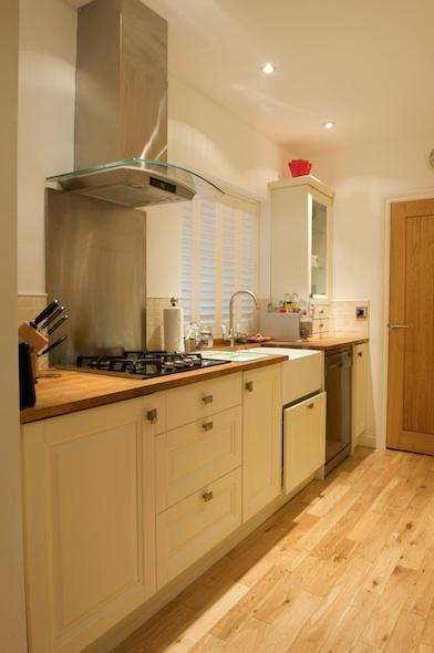Fully equipped luxury kitchen with an extensive range of cooking utensils