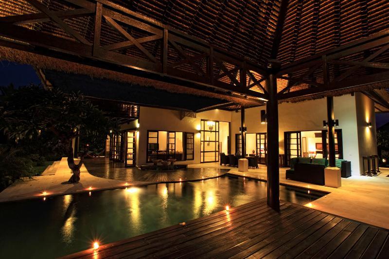 Terrace by night