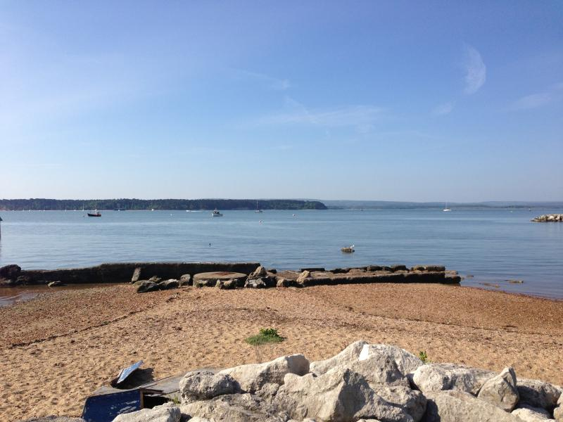 Harbour walk with views to Brownsea Island a level two minute walk away