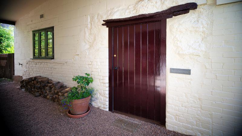 The Delderfield Suite, the Front Door to your holiday....!