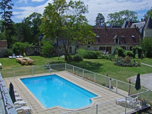 Loire Valley, Le Rougegorge - Ideal for Couples & Families; Heated Pool, Gym, vacation rental in Montresor