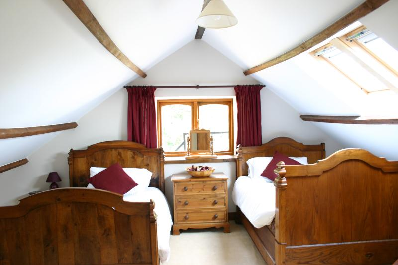 French beds in family suite