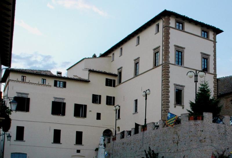 URBANI PALACE. Renaissance palace of 1459
