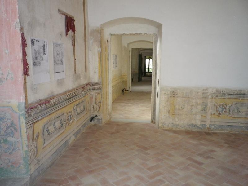 URBANI Palace - The noble floor and graund floor - Rooms in restoration.
