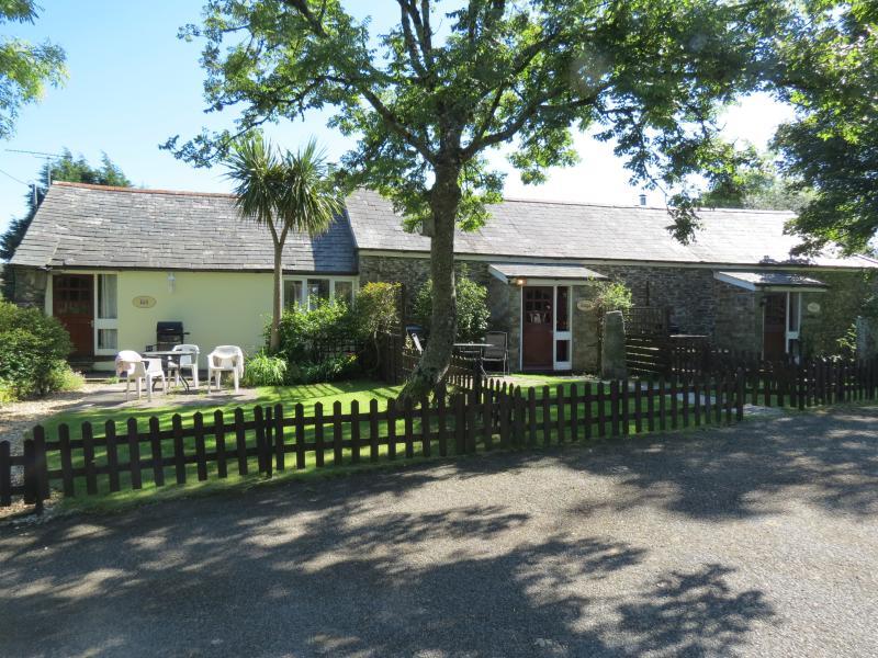 Détendez-vous dans le chalet du Sage à Pacifique Trengale inférieur Cottages de vacances près de Bodmin en Cornouailles