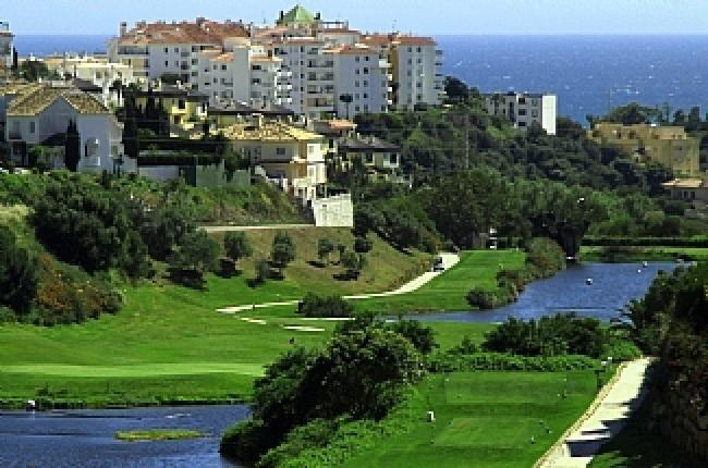 The Miraflores golf course designed by Falco Nardi.