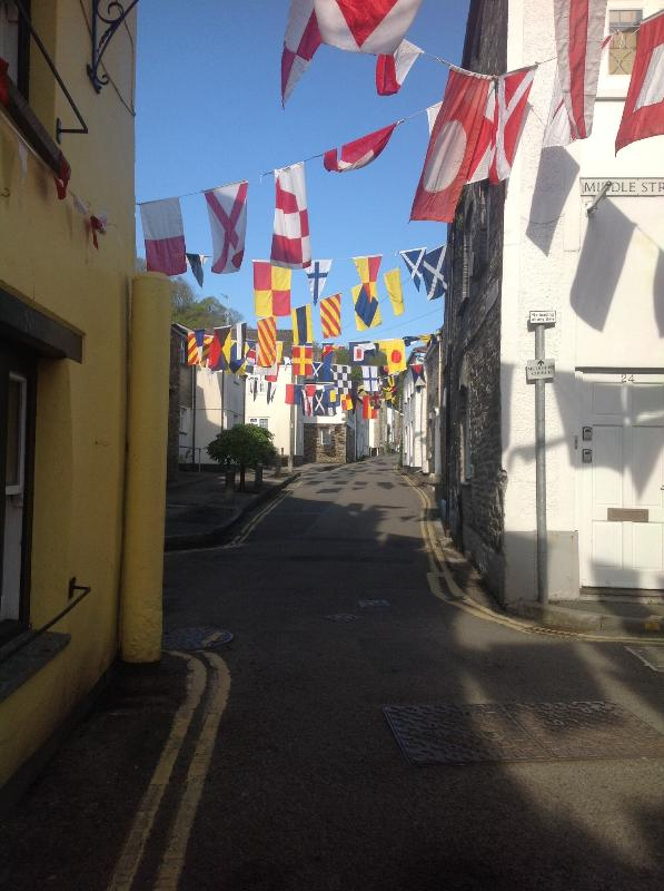 Church Lane on Mayday