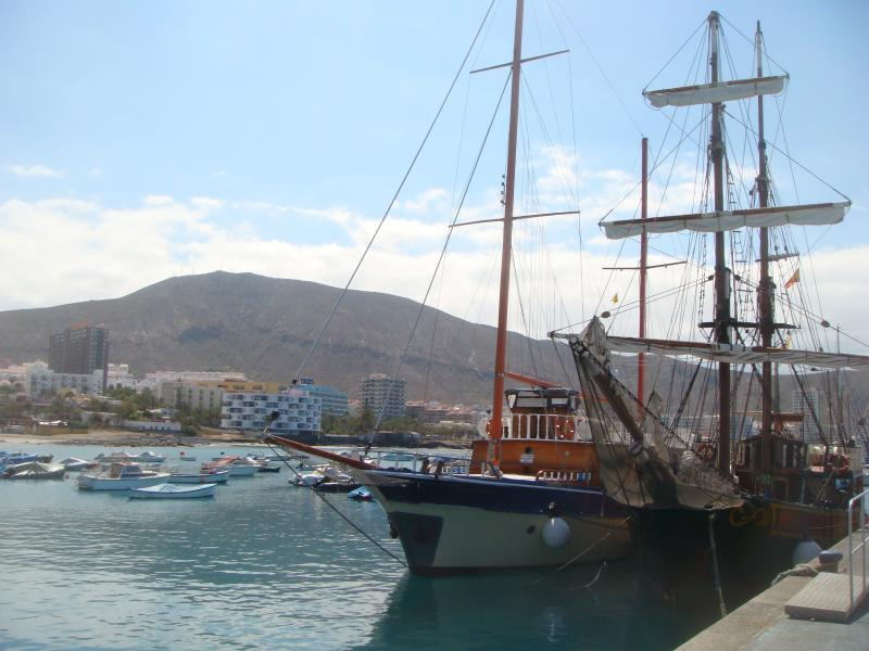 The harbour at Los Cristianos