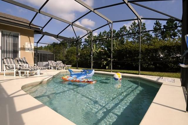 Secluded Pool with extended deck