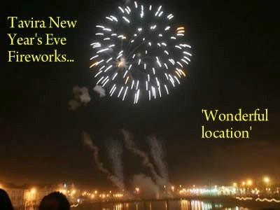 New year's Eve firework display!