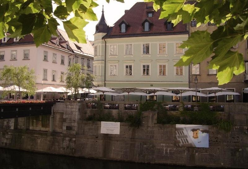 EMMI is located as centrally as it gets, find the 19th century building on the Ljubljanica river ban