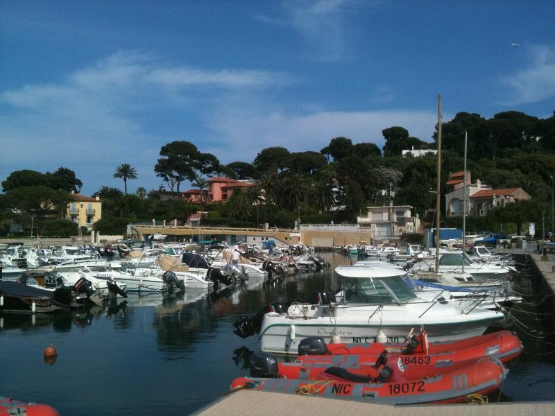 Port Salis opposite the apartment