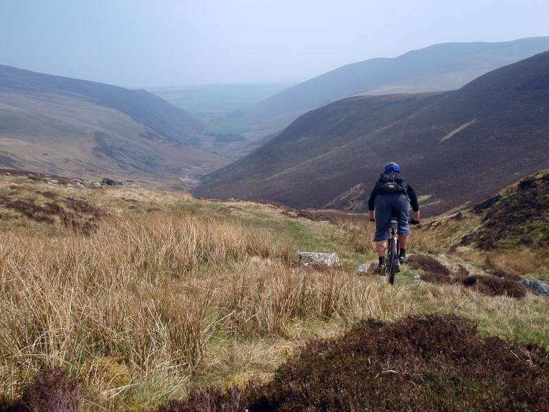 The fells are great for mountain biking