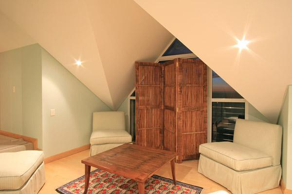 Room to,relax and read perhaps?