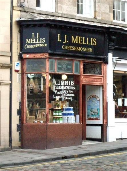 The famous artisan cheesemonger who supplies the best restaurants in Scotland.
