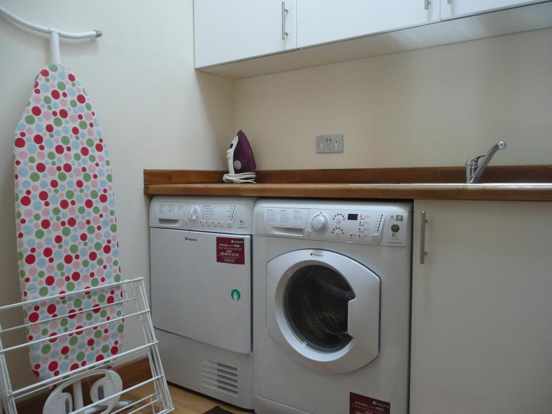 Laundry (which is upstairs).
