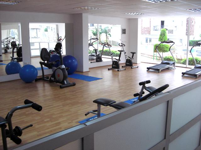 The Gym at Side Sunset Residence in Turkey