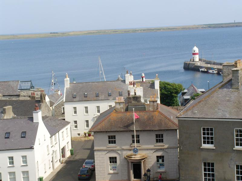 View of Castletown Outer Harbour