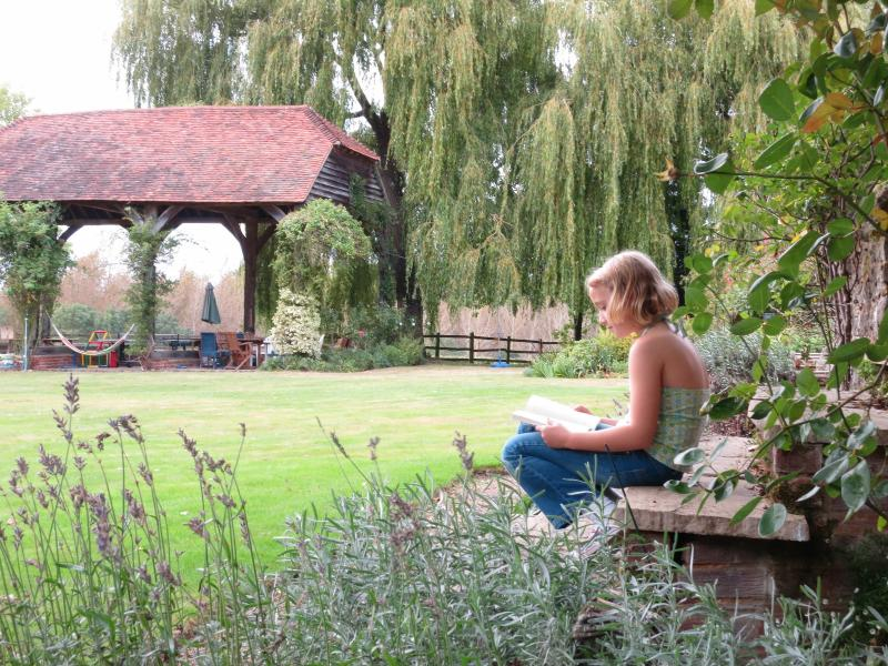 Chill out and relax in the gardens and 9 acres of land