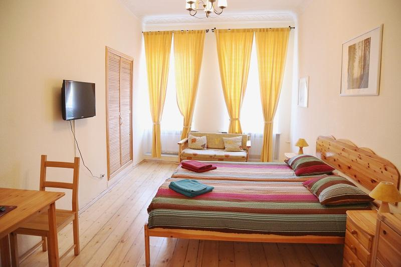 Flat in City Center, location de vacances à Krasnogvardeysky District