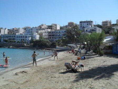 The nearest sandy beach Ammoudi , located 800 meters from the hotel.