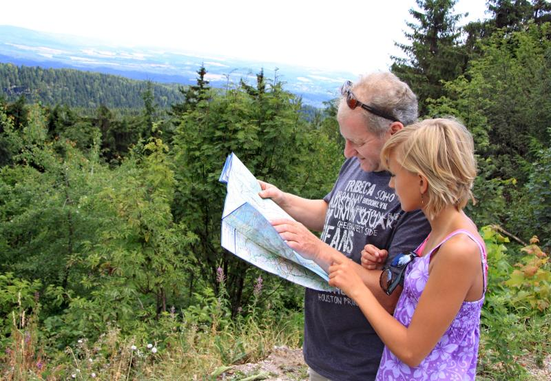 Hiking in the south Harz
